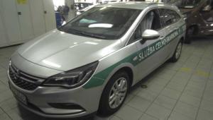 sluzba-celno-skarbowa-opel-astra-2017-krakow-limes-tech MONTAŻ